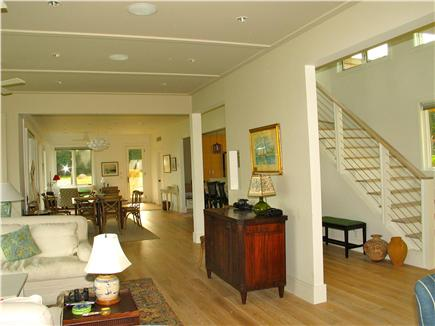 Edgartown, Katama Martha's Vineyard vacation rental - Additional sitting area and access to the outside shower and deck