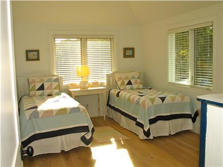 Edgartown, Katama Martha's Vineyard vacation rental - Second floor 3rd bedroom with two twins