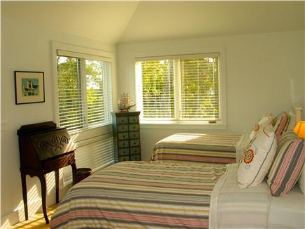 Edgartown, Katama Martha's Vineyard vacation rental - Second floor 4th bedroom with two twins