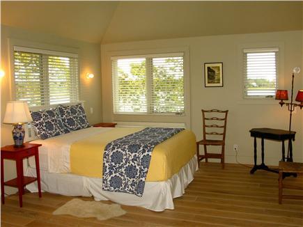 Edgartown, Katama Martha's Vineyard vacation rental - Second floor 5th bedroom with queen and twin bed.