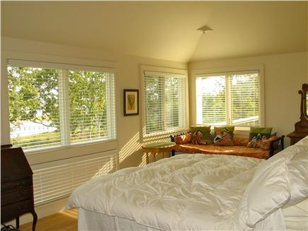 Edgartown, Katama Martha's Vineyard vacation rental - Second floor master with en suite and private deck access