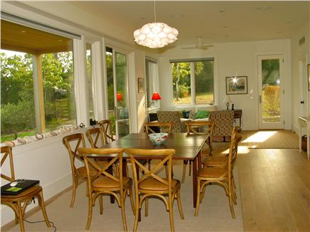 Edgartown, Katama Martha's Vineyard vacation rental - Formal dining, perfect for meals overlooking the water.