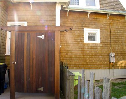 Oak Bluffs Martha's Vineyard vacation rental - Outdoor shower to wash off sand from the Ink Well