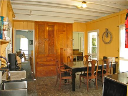 Oak Bluffs Martha's Vineyard vacation rental - Fully equipped kitchen with breakfast table
