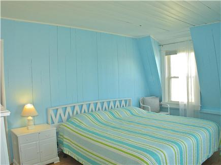 Oak Bluffs Martha's Vineyard vacation rental - Blue bedroom on located on the second floor