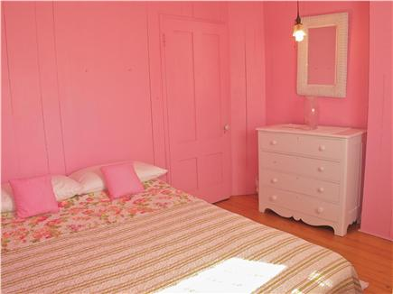 Oak Bluffs Martha's Vineyard vacation rental - Pink bedroom on located on the second floor