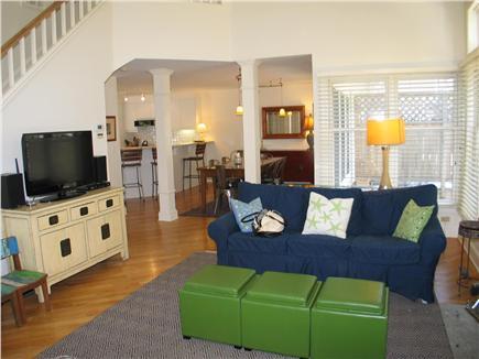 Vineyard Haven Martha's Vineyard vacation rental - Main living area and entertainments center