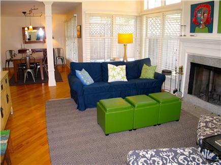 Vineyard Haven Martha's Vineyard vacation rental - Living room with fireplace