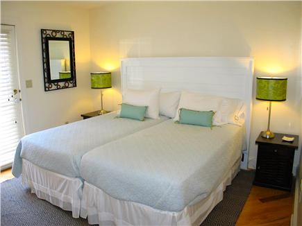 Vineyard Haven Martha's Vineyard vacation rental - First floor bedroom with king/ or two twin beds