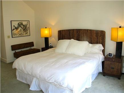 Vineyard Haven Martha's Vineyard vacation rental - Upstairs master with King bed, en suite and walk in closet