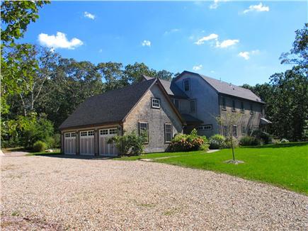 Vineyard Haven, Tisbury Martha's Vineyard vacation rental - Four bedroom house has huge yard and plenty of sun
