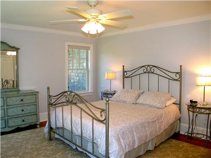 Vineyard Haven, Tisbury Martha's Vineyard vacation rental - Fourth bedroom with queen bed and en suite