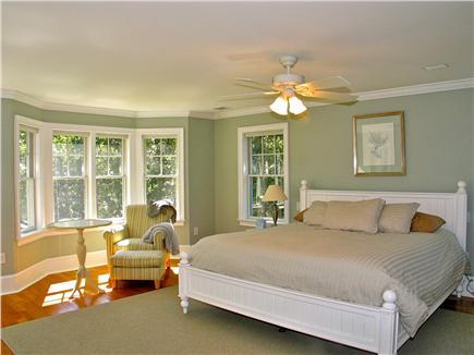 Vineyard Haven, Tisbury Martha's Vineyard vacation rental - Master Bedroom with King bed and en suite