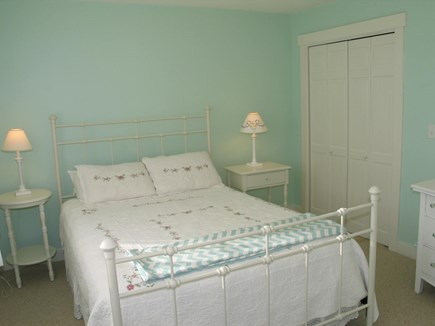 Aquinnah Martha's Vineyard vacation rental - Third bedroom in lower level with queen size bed