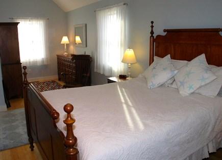 Aquinnah Martha's Vineyard vacation rental - Master Bedroom upstairs with en suite bathroom