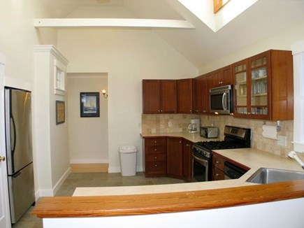 Aquinnah Martha's Vineyard vacation rental - Another view of the kitchen.