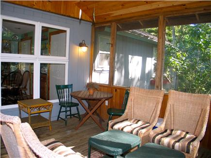 Vineyard Haven Martha's Vineyard vacation rental - Addition outside lighting for screened in porch
