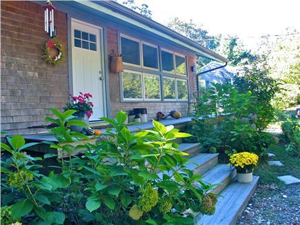 Vineyard Haven Martha's Vineyard vacation rental - Front entrance