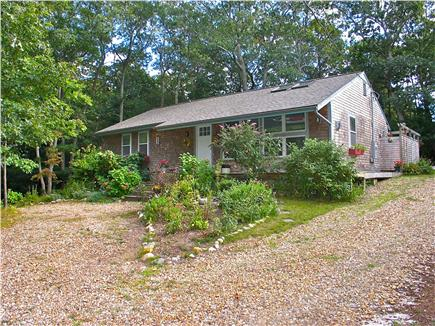 Vineyard Haven Martha's Vineyard vacation rental - Circular drive and side parking area as well