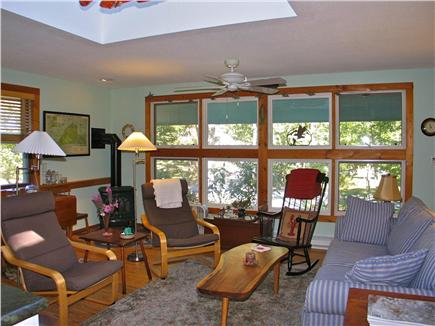 Vineyard Haven Martha's Vineyard vacation rental - Living area with large windows