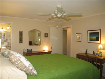 Vineyard Haven Martha's Vineyard vacation rental - Master bedroom with queen bed and half bath