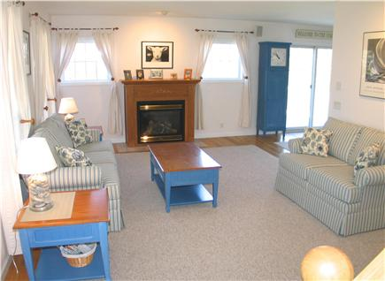 West Tisbury Martha's Vineyard vacation rental - Large bright living room