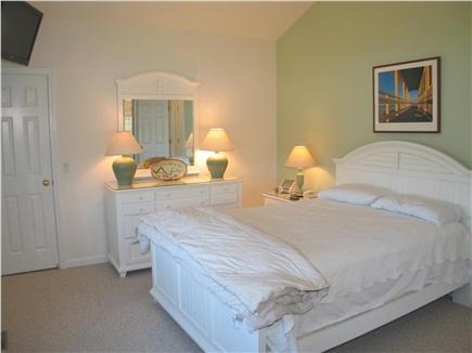 West Tisbury Martha's Vineyard vacation rental - Master bedroom with queen bed, also upstairs