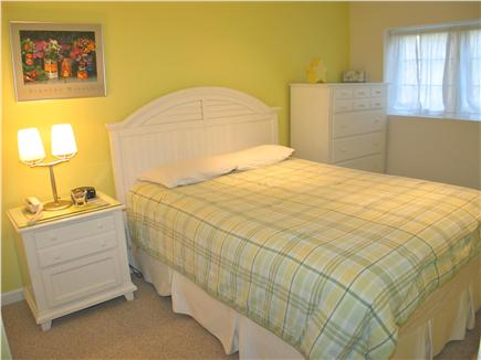 West Tisbury Martha's Vineyard vacation rental - Bedroom 4, queen bed off of the media area in the lower level