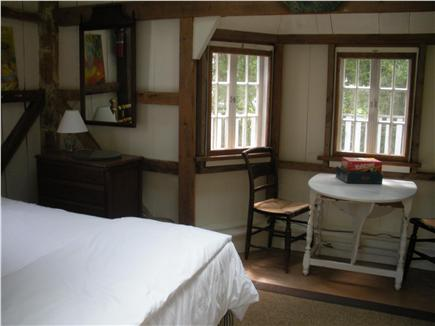 Edgartown Martha's Vineyard vacation rental - Bedroom (only)Cottage with queen bed and sitting/dining area