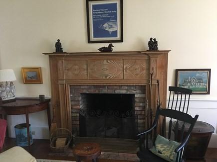 Edgartown Martha's Vineyard vacation rental - Fireplace