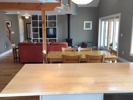 Chilmark, Chlmark Martha's Vineyard vacation rental - From Kitchen island