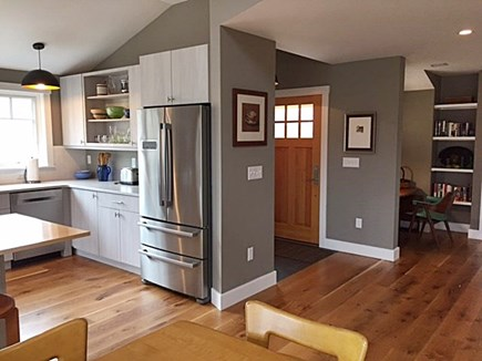 Chilmark, Chlmark Martha's Vineyard vacation rental - Overview of entryway & open kitchen/floor plan