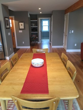 Chilmark, Chlmark Martha's Vineyard vacation rental - Dining Room table