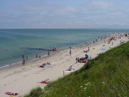 Oak Bluffs Martha's Vineyard vacation rental - Town Beach AKA Inkwell Beach is two blocks away