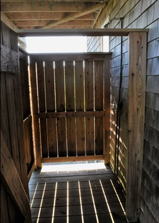 Oak Bluffs Martha's Vineyard vacation rental - Outdoor shower