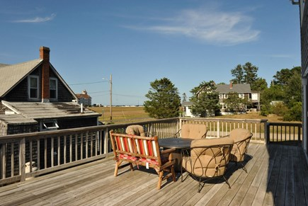 Oak Bluffs Martha's Vineyard vacation rental - Lower deck view to Ocean