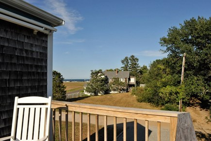 Oak Bluffs Martha's Vineyard vacation rental - Elevated deck view to Ocean