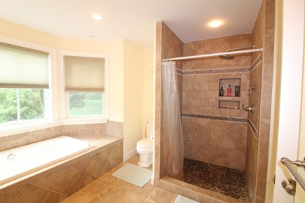 Vineyard Haven Martha's Vineyard vacation rental - Master Bath with air bubble jet tub