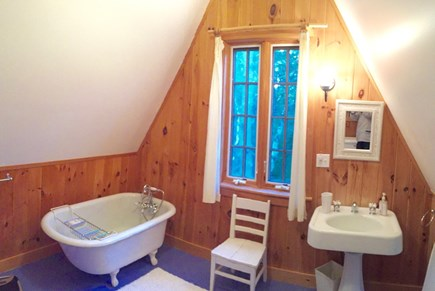 West Tisbury Martha's Vineyard vacation rental - 2nd floor bath