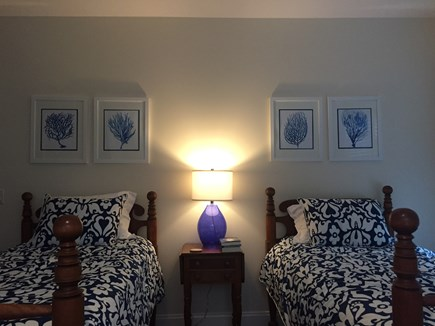 Oak Bluffs Martha's Vineyard vacation rental - Twin Bedroom with large window seat