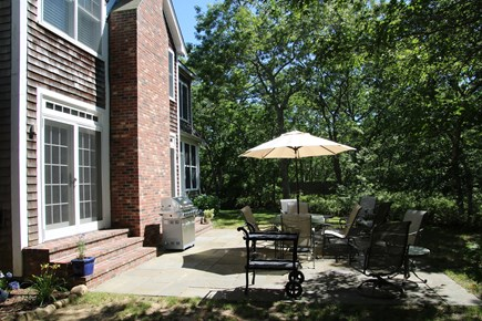 Oak Bluffs Martha's Vineyard vacation rental - Bluestone Patio, Barbecue Grill