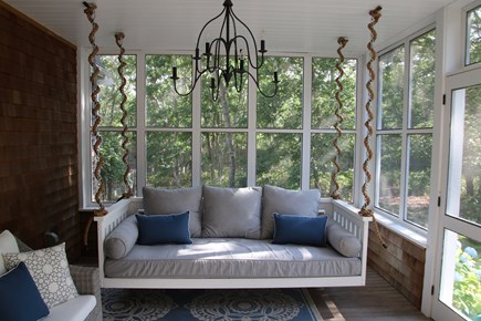Oak Bluffs Martha's Vineyard vacation rental - Screened in porch