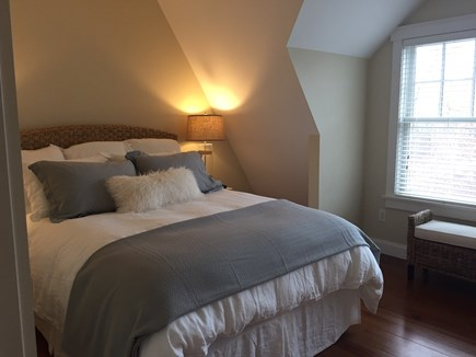 Oak Bluffs Martha's Vineyard vacation rental - Guest Bedroom 1 with Queen Bed and TV