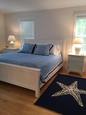 Vineyard Haven Martha's Vineyard vacation rental - First floor king bed with private full bathroom