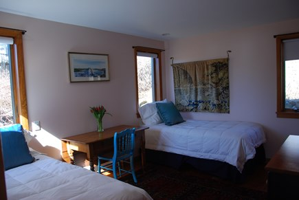Chilmark Martha's Vineyard vacation rental - Twin bedroom - First Floor