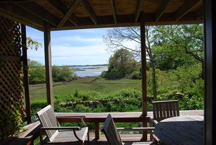 Chilmark Martha's Vineyard vacation rental - Outside Dining Area