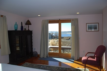Chilmark Martha's Vineyard vacation rental - View from 1st Floor Bedroom View with King bed and full bath