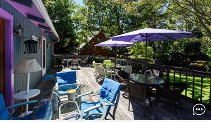 Oak Bluffs Martha's Vineyard vacation rental - Deck. 16x 37