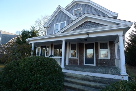 Vineyard Haven Martha's Vineyard vacation rental - Front porch which will be freshly painted!