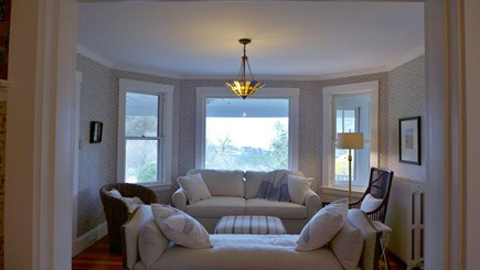 Vineyard Haven Martha's Vineyard vacation rental - LIving room with a view